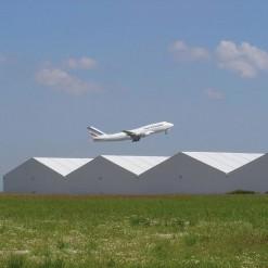 Fabrication de hangar métallique
