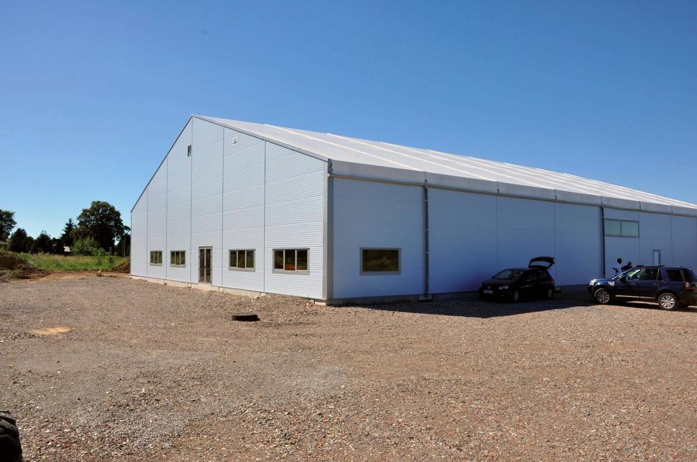 Bâtiment de stockage - Hangar métallique