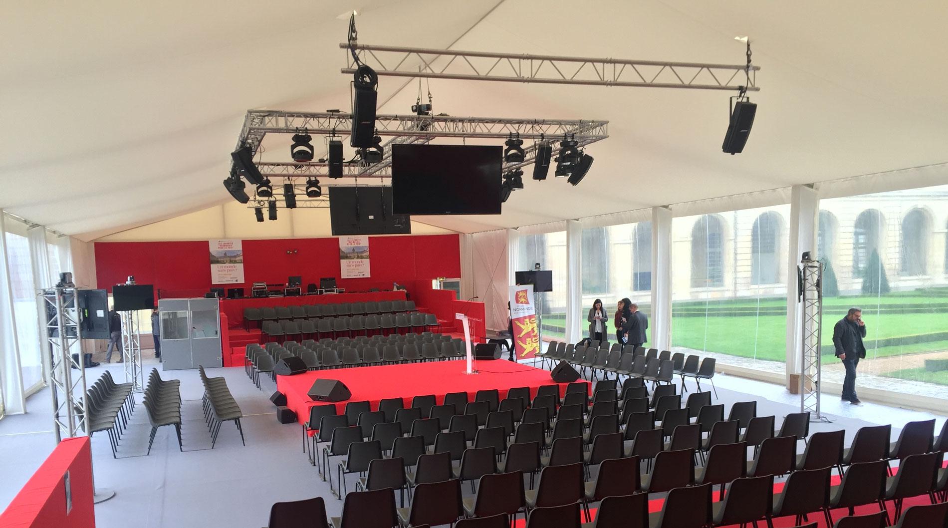 Location Chapiteau événement corporate