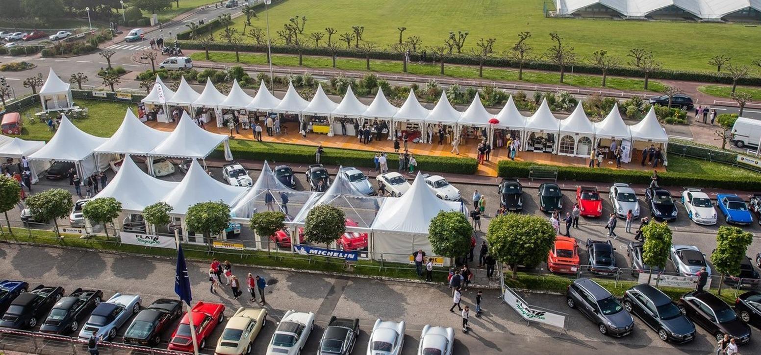 Sportif culturel chapiteau garden évènement Porsche