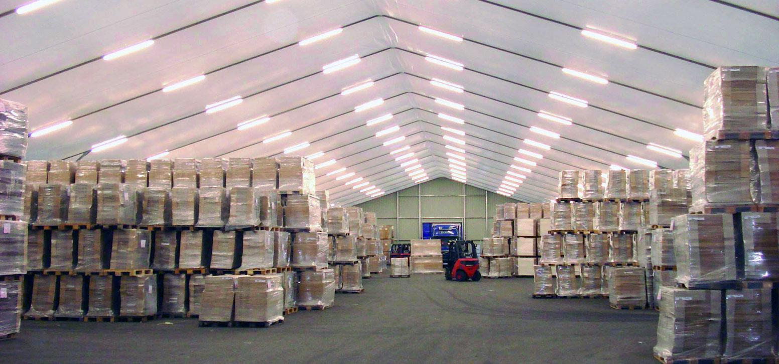 hangar de stockage transport logistique
