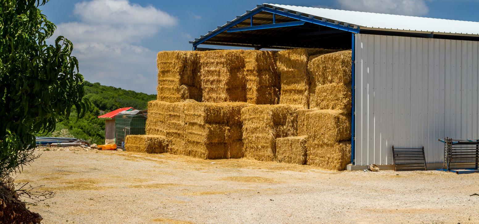 Bâtiment stockage agricole